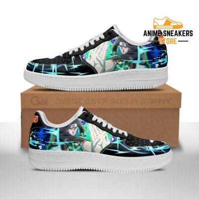 Neji Hyuga Sneakers Custom Naruto Anime Shoes Leather Men / Us6.5 Air Force