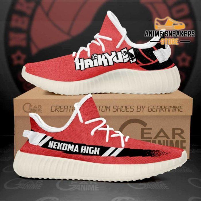 Nekoma High Shoes Haikyuu Custom Anime Sneakers Tt11 Men / Us6 Yeezy