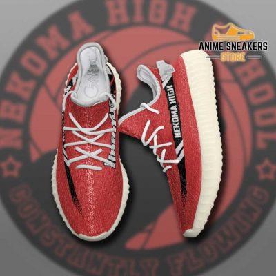 Nekoma High Shoes Haikyuu Custom Anime Sneakers Tt11 Yeezy