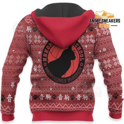 Nekoma High Ugly Christmas Sweater Haikyuu Anime Xmas Shirt Va10 All Over Printed Shirts