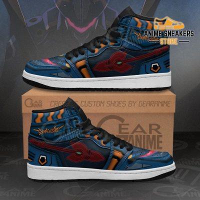 Neon Genesis Evangelion Mark 06 Sneakers Anime Shoes Men / Us6.5 Jd