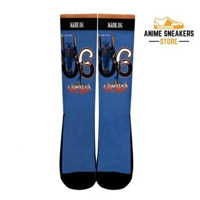 Neon Genesis Evangelion Mark 06 Socks Anime Custom Pt10