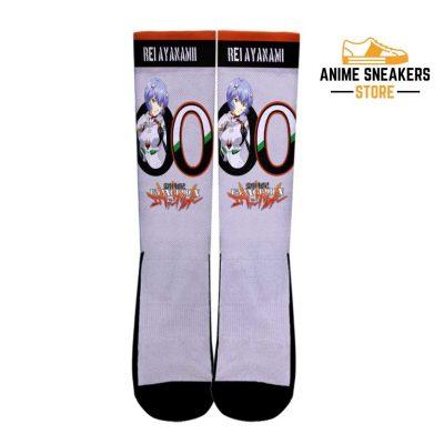 Neon Genesis Evangelion Rei Ayanami Socks Anime Custom Pt10