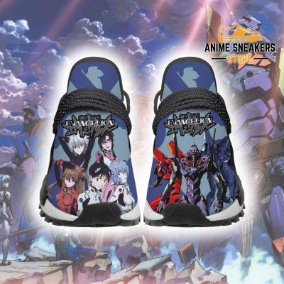 Neon Genesis Evangelion Shoes Custom Anime Sneakers Men / Us6 Nmd