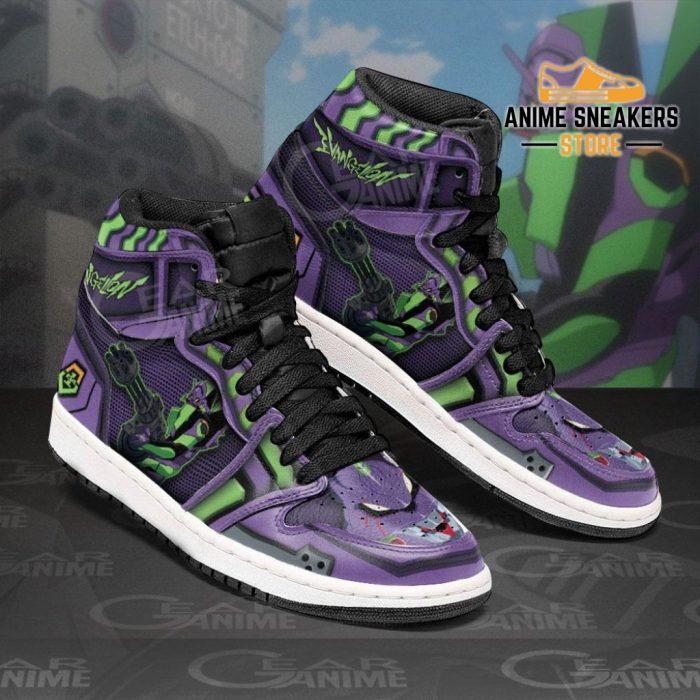 Neon Genesis Evangelion Unit-01 Sneakers Anime Shoes Jd