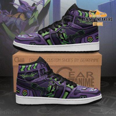 Neon Genesis Evangelion Unit-01 Sneakers Anime Shoes Men / Us6.5 Jd