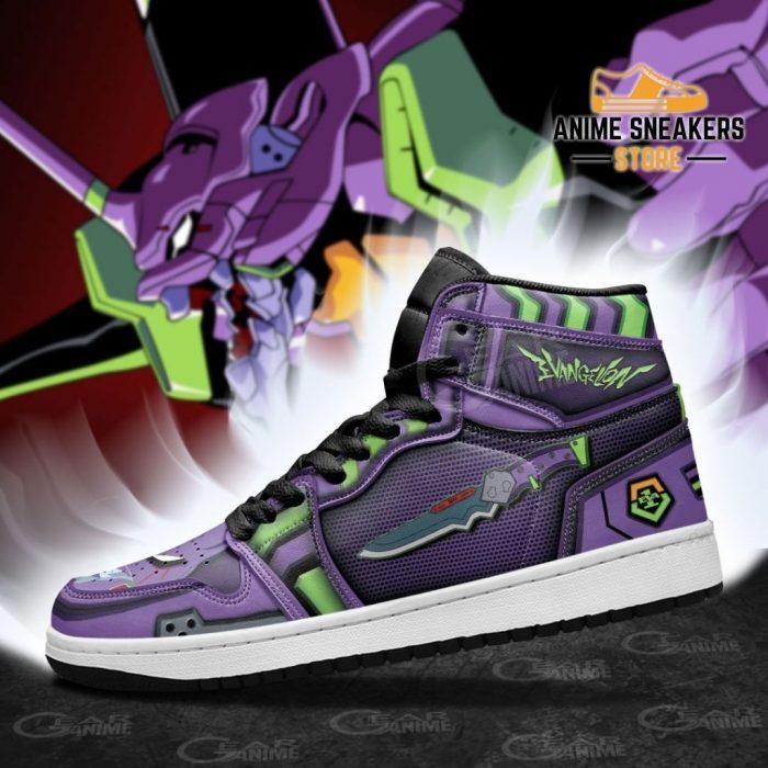 Neon Genesis Evangelion Unit-01 Sneakers Weapon Anime Shoes Jd