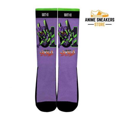 Neon Genesis Evangelion Unit-01 Socks Anime Custom Pt10