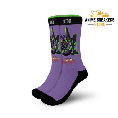 Neon Genesis Evangelion Unit-01 Socks Anime Custom Pt10 Small