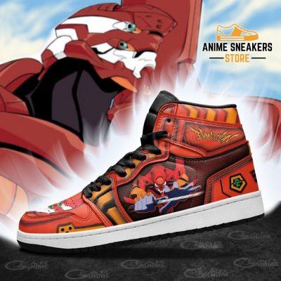 Neon Genesis Evangelion Unit-02 Sneakers Anime Shoes Jd