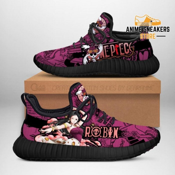 Nico Robin Reze Shoes One Piece Anime Fan Gift Idea Tt04 Men / Us6