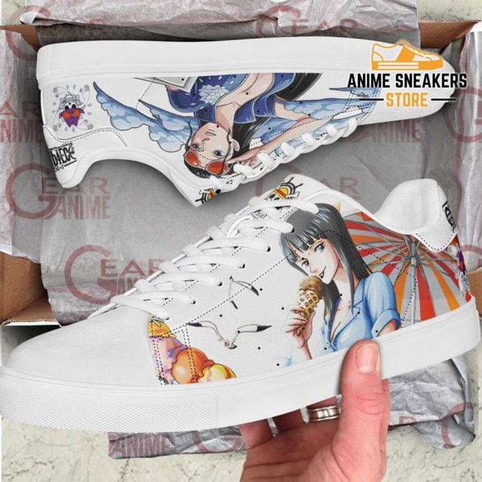 Nico Robin Skate Shoes One Piece Custom Anime