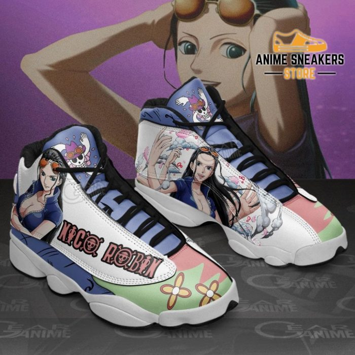 Nico Robin Sneakers One Piece Anime Shoes Jd13