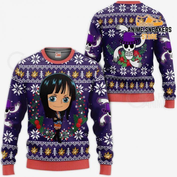 Nico Robin Ugly Christmas Sweater One Piece Anime Xmas Gift Va10 / S All Over Printed Shirts