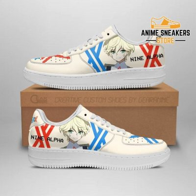 Darling In The Franxx Shoes 9A Nine Alpha Sneakers Anime Men / Us6.5 Air Force