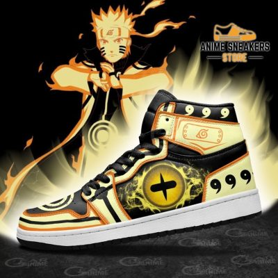 Nine Tails Sage Sneakers Kurama Naruto Eyes Anime Shoes Jd