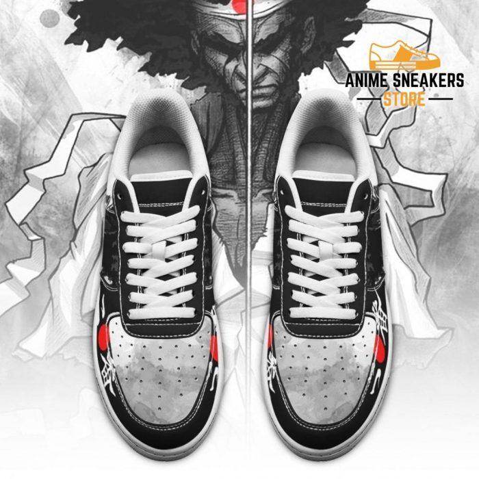 Ninja Sneakers Afro Samurai Anime Shoes Fan Gift Idea Pt06 Air Force
