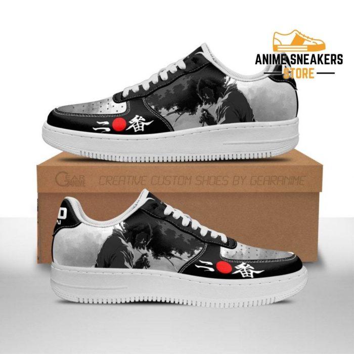 Ninja Sneakers Afro Samurai Anime Shoes Fan Gift Idea Pt06 Men / Us6.5 Air Force