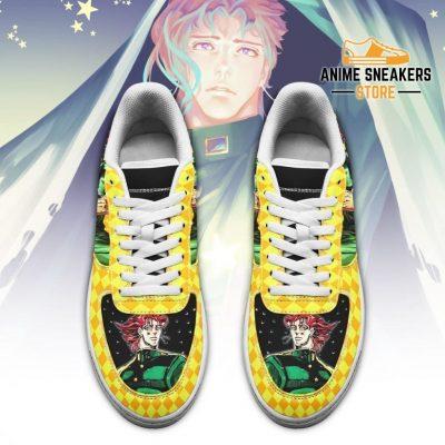 Noriaki Kakyoin Sneakers Jojo Anime Shoes Fan Gift Idea Pt06 Air Force