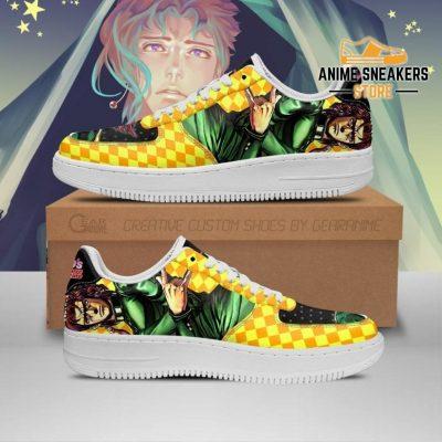 Noriaki Kakyoin Sneakers Jojo Anime Shoes Fan Gift Idea Pt06 Men / Us6.5 Air Force