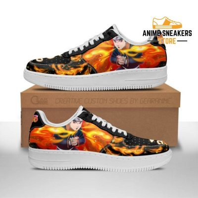 Obito Sneakers Custom Naruto Anime Shoes Leather Men / Us6.5 Air Force