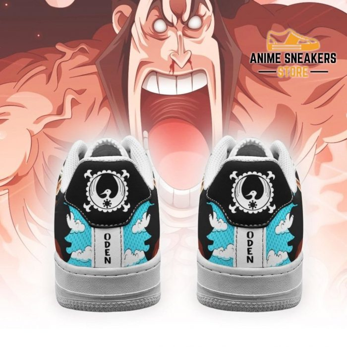 Oden Sneakers Custom One Piece Anime Shoes Fan Pt04 Air Force