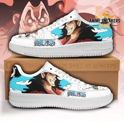 Oden Sneakers Custom One Piece Anime Shoes Fan Pt04 Men / Us6.5 Air Force