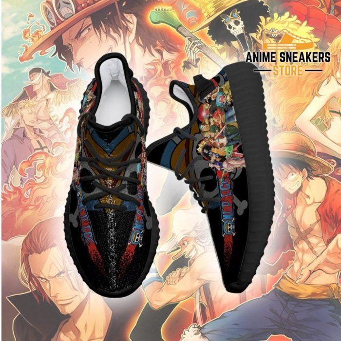 One Piece Yeezy Anime Sneakers Shoes Fan Gift Idea Tt04