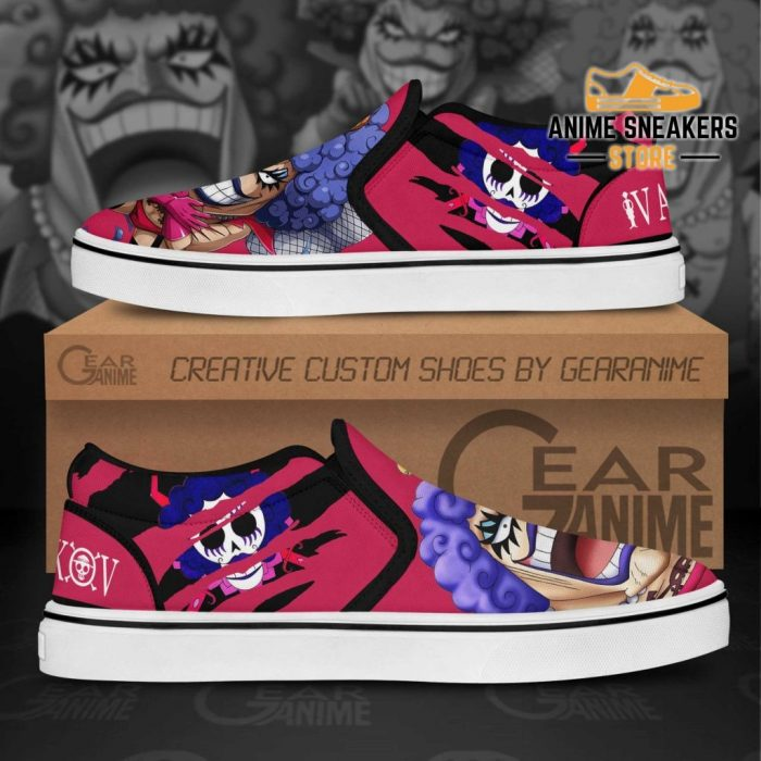 One Piece Ivankov Slip On Shoes Custom Anime Slip-On