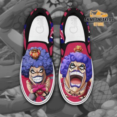 One Piece Ivankov Slip On Shoes Custom Anime Men / Us6 Slip-On