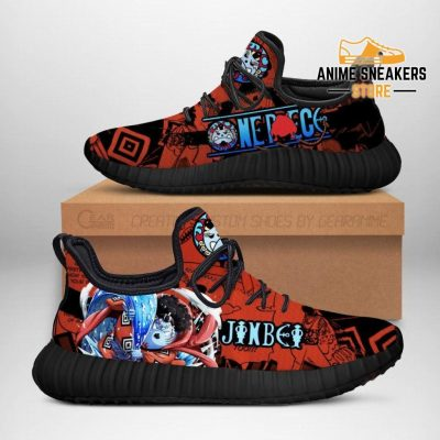One Piece Jinbei Reze Shoes Custom Anime Sneakers Men / Us6