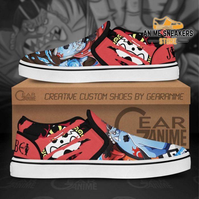 One Piece Jinbei Slip On Shoes Custom Anime Slip-On
