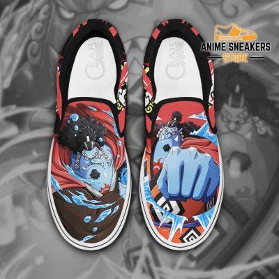 One Piece Jinbei Slip On Shoes Custom Anime Men / Us6 Slip-On