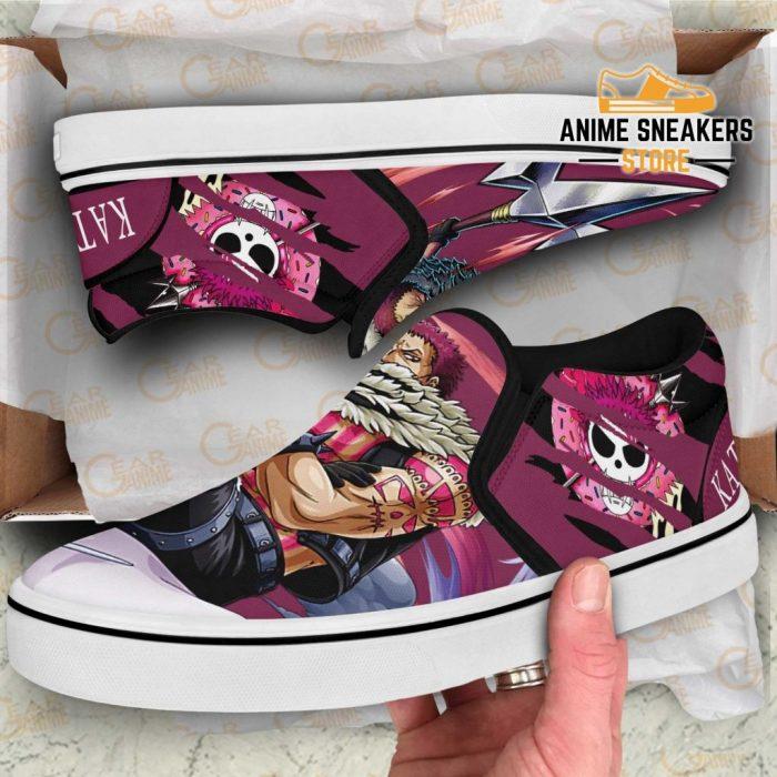 One Piece Katakuri Slip On Shoes Custom Anime Slip-On