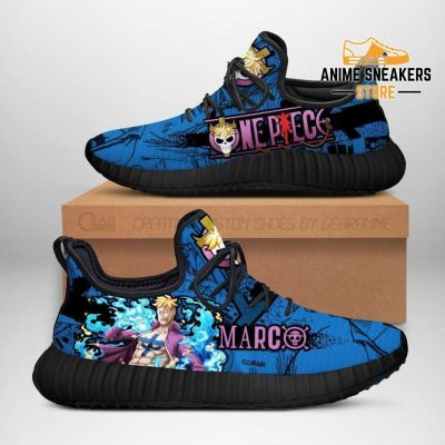 One Piece Marco Reze Shoes Custom Anime Sneakers Men / Us6