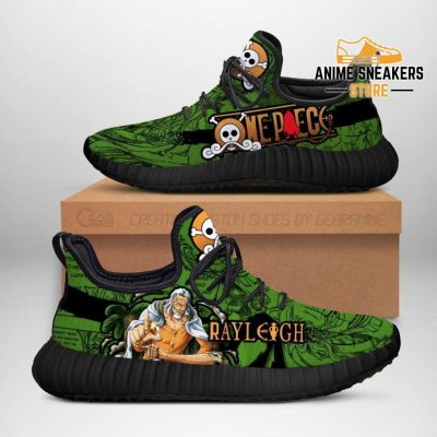 One Piece Rayleigh Reze Shoes Custom Anime Sneakers Men / Us6