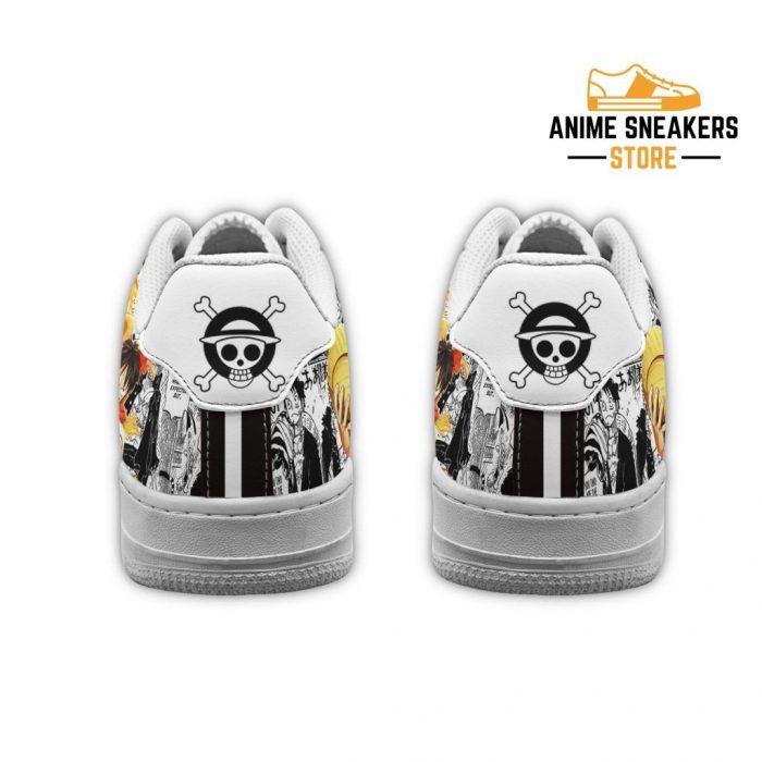 One Piece Sneakers Manga Anime Shoes Fan Gift Idea Tt04 Air Force