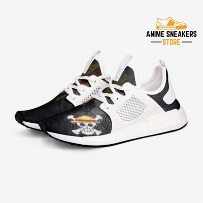 One Piece Strawhat Crew Custom Nomad Shoes 3 / White Mens