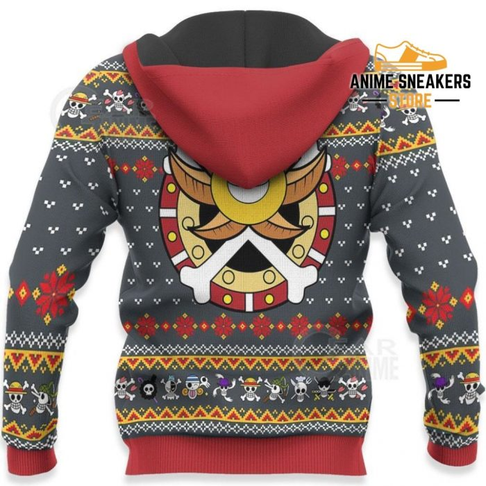 One Piece Ugly Christmas Sweater Straw Hat Priate Xmas Gift Va10 All Over Printed Shirts
