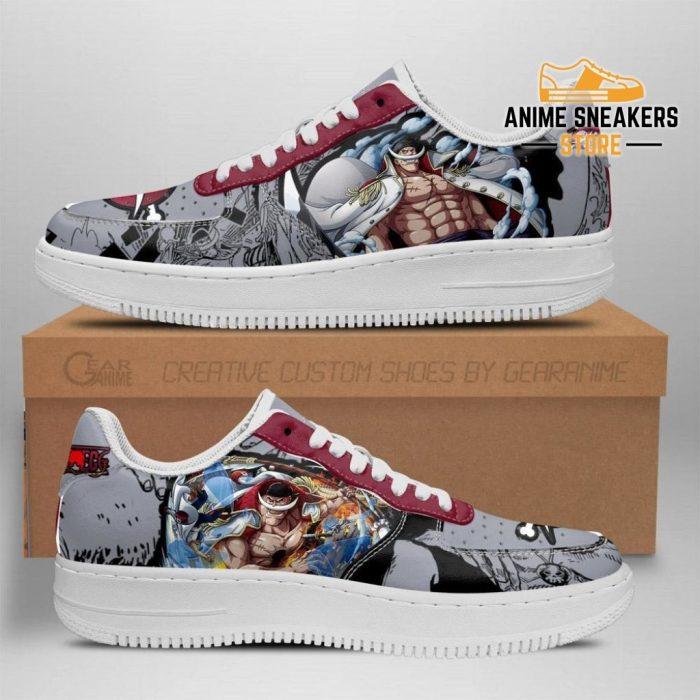 One Piece Whitebeard Sneakers Anime Shoes Fan Gift Tt06 Men / Us6.5 Air Force