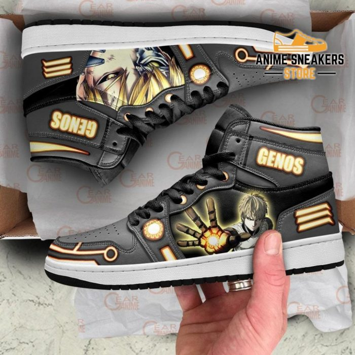 One Punch Man Genos Sneakers Anime Custom Shoes Mn10 Jd