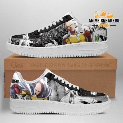 One Punch Man Sneakers Manga Anime Shoes Fan Gift Idea Tt04 Men / Us6.5 Air Force