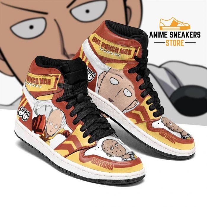 One Punch Man Sneakers Saitama Funny Face Custom Shoes Men / Us6.5 Jd