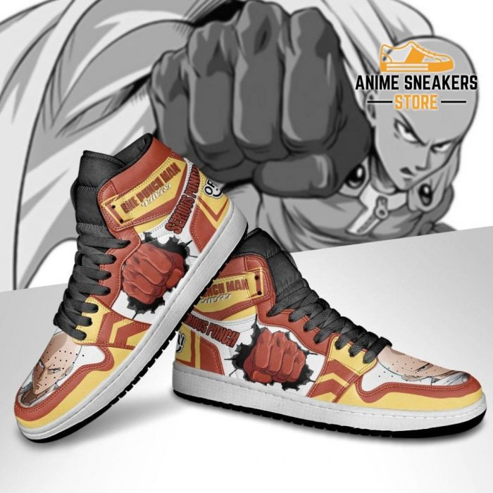 One Punch Man Sneakers Saitama Serious Anime Shoes Jd