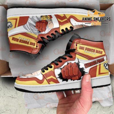 One Punch Man Sneakers Saitama Serious Anime Shoes Men / Us6.5 Jd
