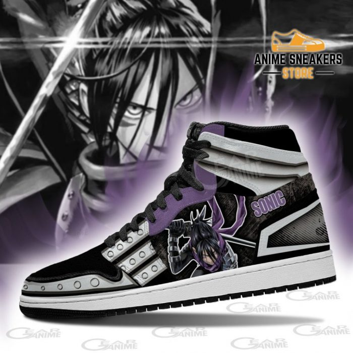 One Punch Man Sonic Sneakers Anime Custom Shoes Mn10 Jd