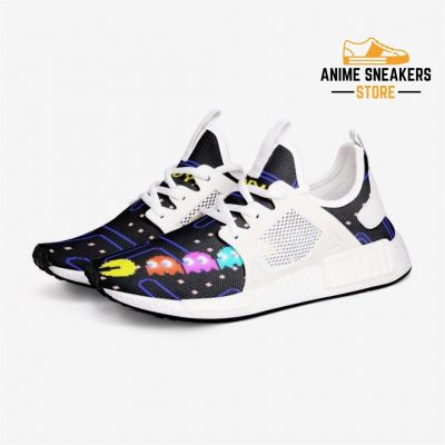 Pacman Revive Custom Nomad Shoes 3 / White Mens