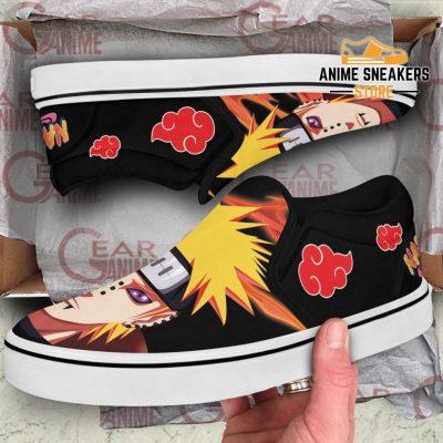 Pain Slip On Shoes Naruto Custom Anime Pn12 Slip-On