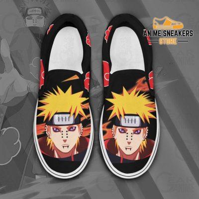 Pain Slip On Shoes Naruto Custom Anime Pn12 Men / Us6 Slip-On