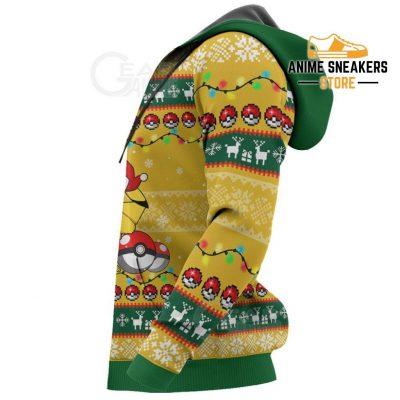 Pikachu Eevee Ugly Christmas Sweater Pokemon Anime Xmas Gift Va11 All Over Printed Shirts